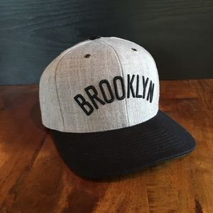 Brooklyn (Mitchell and Ness) Strap-back Hat